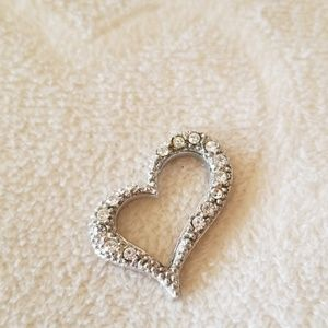 Jewelry - Small Crystal Heart Pendant
